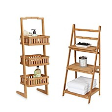 Image Of Creative Bath™ Bamboo Shelf Towers