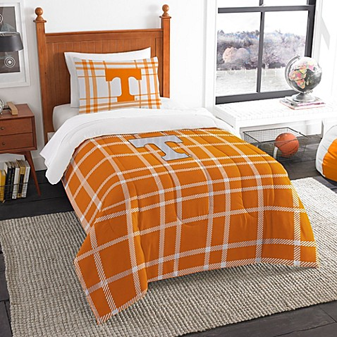 University Of Tennessee Embroidered Comforter Set Bed