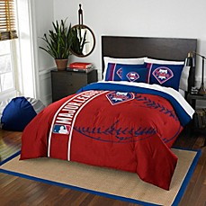 image of MLB Philadelphia Phillies Embroidered Comforter Set