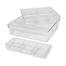 image of 3-Piece Clear Organizer Set