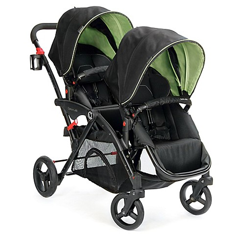 Contours® Options® Elite Tandem Stroller in Envy Green - buybuy BABY