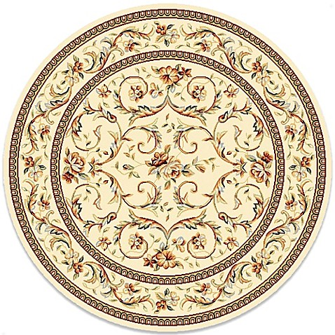 Buy safavieh lyndhurst 5 foot 3 inch round rug from bed for Where to buy round rugs