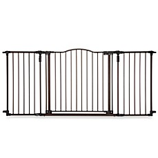 image of North States Deluxe Decor Gate in Matte Bronze