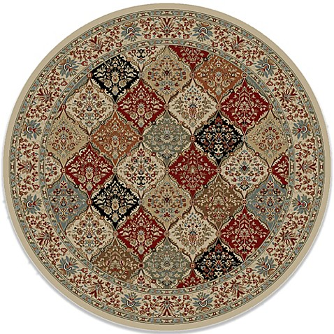 Buy Concord Global Bakhtiar 7 Foot 10 Inch Round Rug In