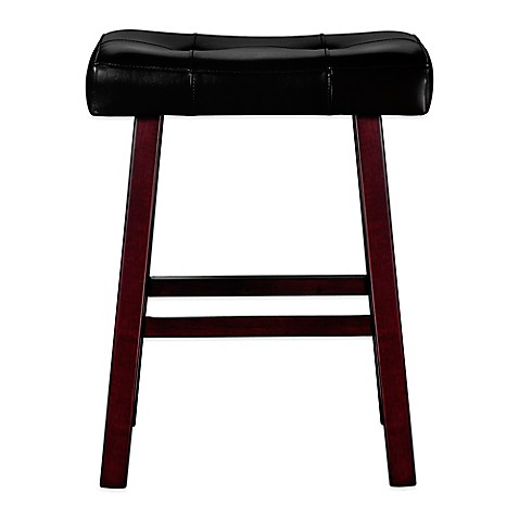 Buy Ampersand Padded Saddle Stool From Bed Bath Amp Beyond