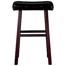 image of Ampersand™ Padded Saddle Stool