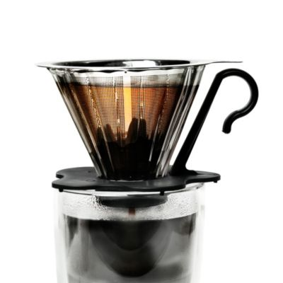 Bodum Pour Over Coffee Maker Bed Bath And Beyond : Primula Pour Over 1-Cup Glass Coffee Maker - Bed Bath & Beyond