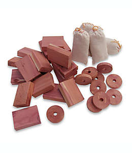 Set de cedro aromático, 36 piezas