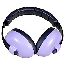 image of Baby Banz Size 0-12 Years earBanZ Hearing Protection in Purple