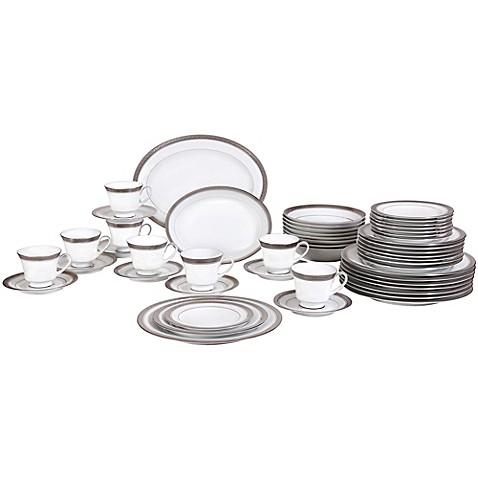 Noritake® Crestwood Platinum 50-Piece Dinnerware Set - Bed Bath & Beyond