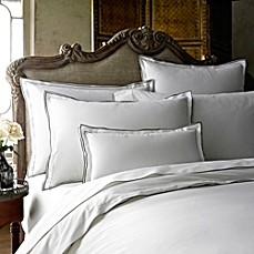 image of Kassatex Fiesole Duvet Cover in Charcoal