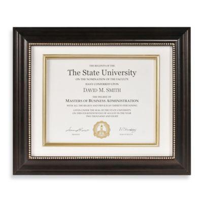 Diploma & Certificate Frames - Bed Bath & Beyond