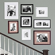 image of real simple 8 piece portrait frame set