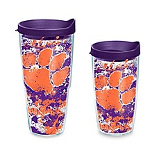 image of Tervis® Clemson Tigers Splatter Wrap Tumbler with Lid