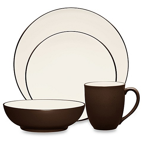 Noritake® Colorwave Coupe Dinnerware Collection in Chocolate