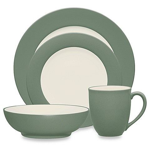 Noritake® Colorwave Rim Dinnerware Collection in Green - Bed Bath ...