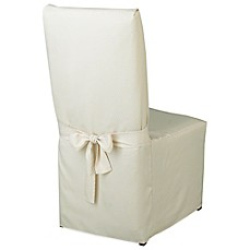 Image Of McKenna Microfiber Dining Room Chair Cover
