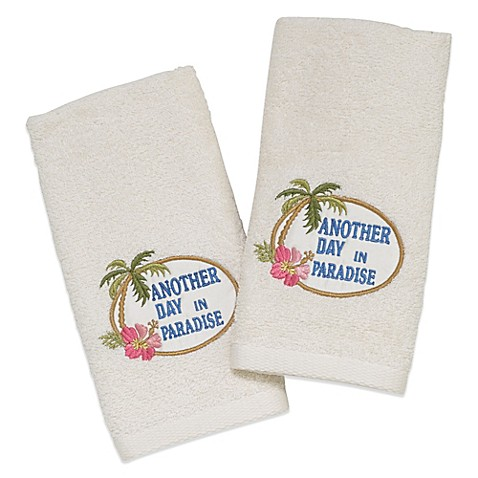 Buy Avanti Another Day In Paradise Fingertip Towel In
