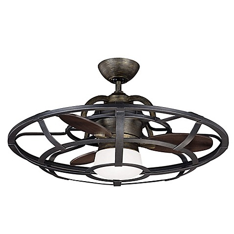 Savoy House French Country Alsace Fan d'Lier 26-Inch Ceiling Fan