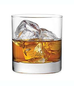 Vasos de vidrio Dailyware™ dobles de corte antiguo, Set de 4