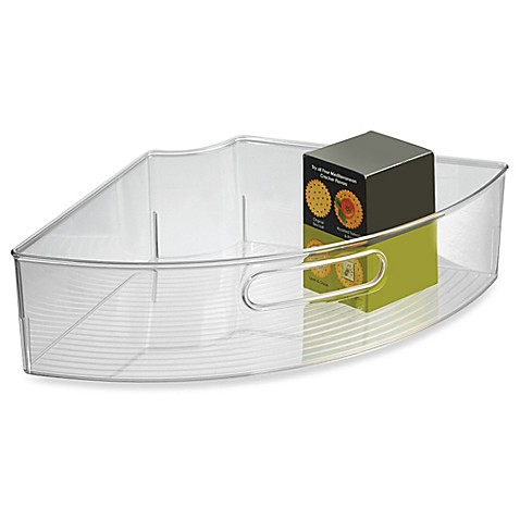 InterDesignu0026reg; Cabinet Binzu0026trade; Lazy Susan Quarter Wedge Organizer