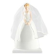 image of Ivy Lane Design Ty Wilson Caucasian Bride Cake Topper
