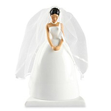 image of Ivy Lane Design Ty Wilson Asian Bride Cake Topper