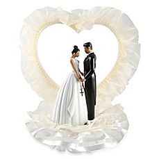 image of Ivy Lane Design Ty Wilson Novia Latina Cake Topper in Ivory