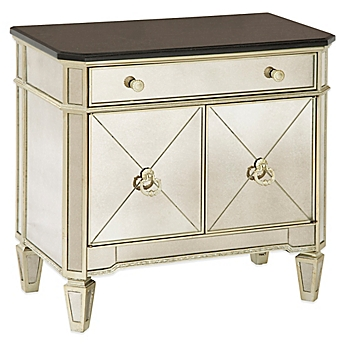 Superior Image Of Bassett Mirror Company Borghese Small Mirrored Chest