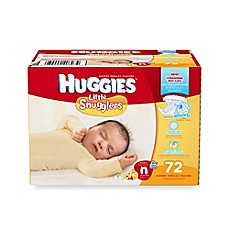 image of Huggies® Little Snugglers 72-Count Newborn Big Pack Diapers