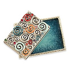 image of Quest Collection Swirls Match Box Set in Silver