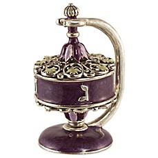 image of Quest Collection Filigree Dreidel with Stand