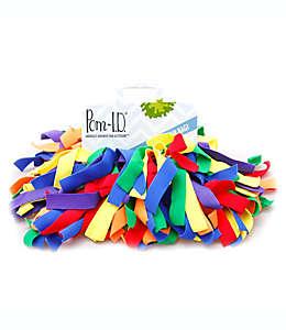 Etiqueta para equipaje Pom ID®, de varios colores