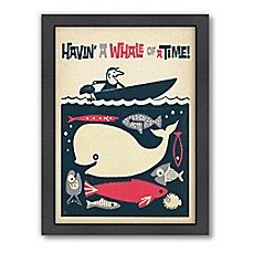 image of Americanflat Havin' A Whale of a Time Digital Print Wall Art