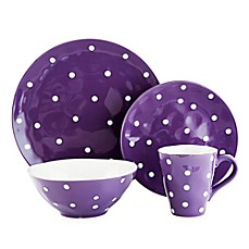 image of Maxwell & Williams™ Sprinkle Dinnerware Collection in Purple