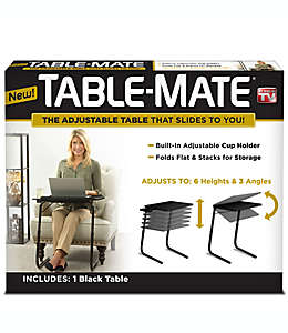Mesita ajustable Table-Mate®, en negro
