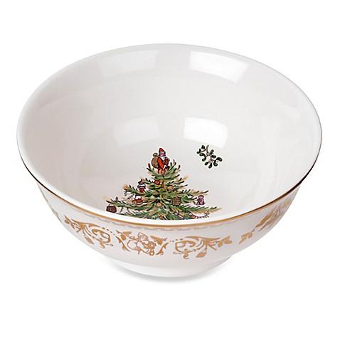 Spode Christmas Tree Gold Small Bowl Bed Bath Beyond