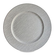 image of Grey 13-Inch Charger Plates (Set of 4)