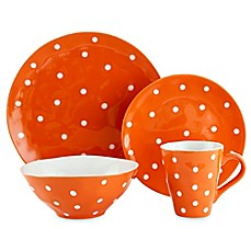 image of Maxwell & Williams™ Sprinkle Dinnerware Collection in Orange