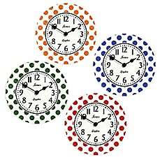 image of Jones® Clocks Dotty Wall Clock