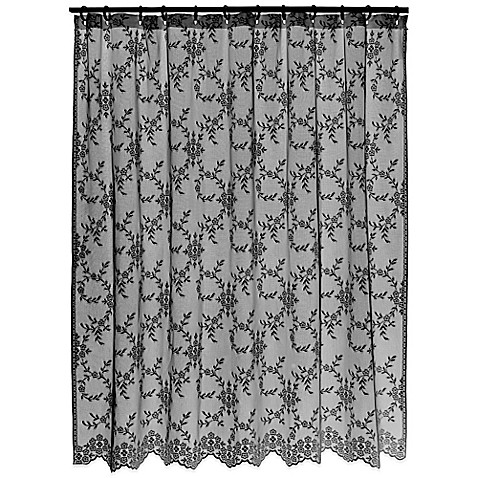 Downton Abbey® Yorkshire Collection Lace Shower Curtain - Bed Bath ...