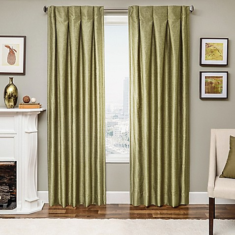 Designers 39 Select Maximus Inverted Pleat Window Curtain Panels Bed Bath Beyond