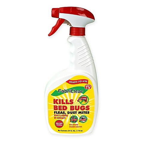 fabriclear 24 oz. bed bug spray - bed bath & beyond