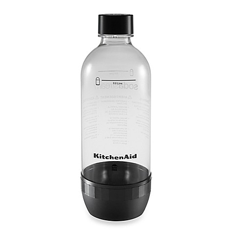 kitchenaid sodastream 2 pack 1 liter carbonating bottle. Black Bedroom Furniture Sets. Home Design Ideas