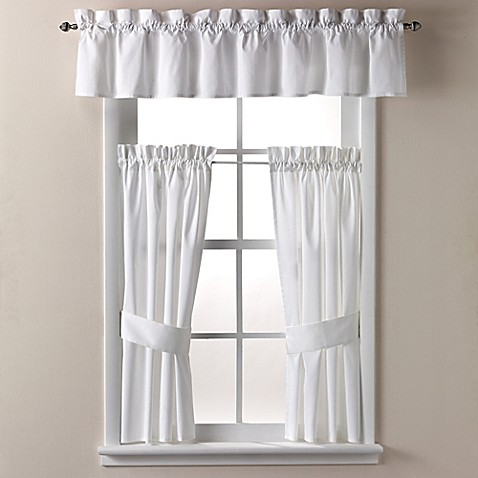 Wamsutta regency 14 inch bath window curtain valance for 14 inch window