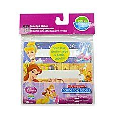 image of Hamco Neat Solutions® 18-Count Disney® Princess Name Tag Stickers
