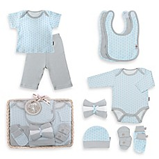 image of Tadpoles™ by Sleeping Partners Starburst Size 0-6M 12-Piece Layette Baby Gift Set in Blue