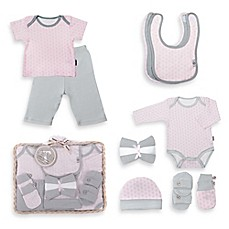 image of Tadpoles™ by Sleeping Partners Starburst Size 0-6M 12-Piece Layette Baby Gift Set in Pink