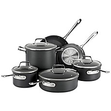 image of All-Clad B1 Hard Anodized Nonstick 10-Piece Cookware Set