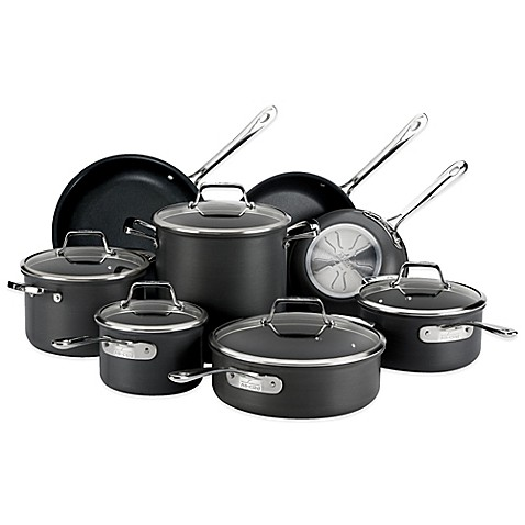 All Clad B1 Nonstick Hard Anodized 13 Piece Cookware Set